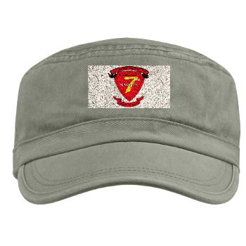 HQC7M - A01 - 01 - HQ Coy - 7th Marines Military Cap