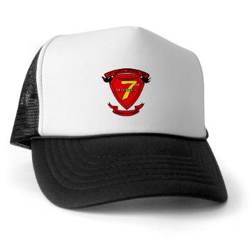 HQC7M - A01 - 02 - HQ Coy - 7th Marines Trucker Hat