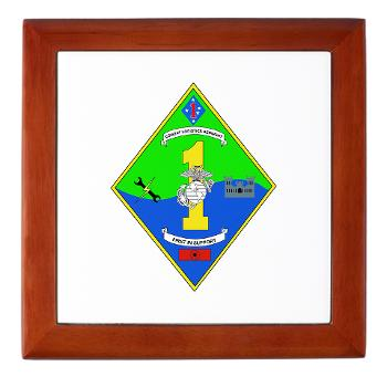 HQCCLR1 - A01 - 01 - HQ Coy - Combat Logistics Regiment 1 - Keepsake Box