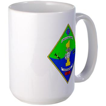 HQCCLR1 - A01 - 01 - HQ Coy - Combat Logistics Regiment 1 - Large Mug