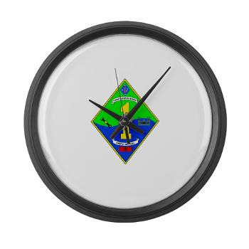 HQCCLR1 - A01 - 01 - HQ Coy - Combat Logistics Regiment 1 - Large Wall Clock