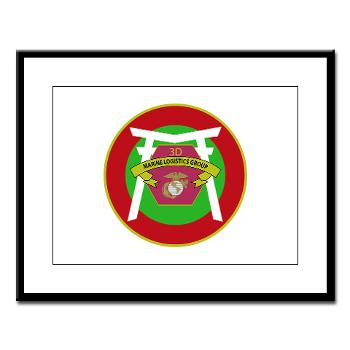 HSB - M01 - 02 - Headquarters and Service Battalion Large Framed Print