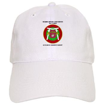 HSB - A01 - 01 - Headquarters and Service Battalion with Text Cap