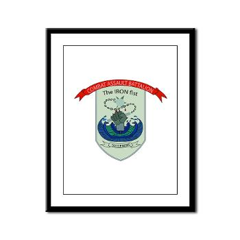 HSC - A01 - 01 - Headquarters and Services Company - Framed Panel Print