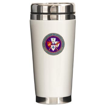 JMTC - M01 - 03 - Joint Maritime Training Center (USCG) - Ceramic Travel Mug
