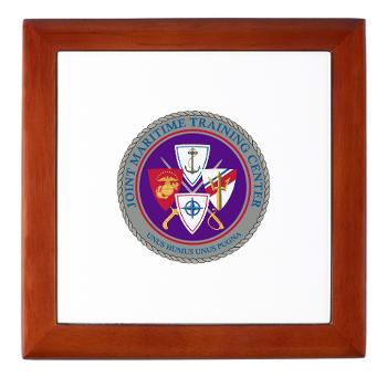 JMTC - M01 - 03 - Joint Maritime Training Center (USCG) - Keepsake Box