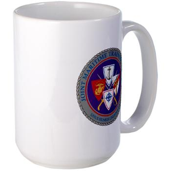 JMTC - M01 - 03 - Joint Maritime Training Center (USCG) - Large Mug