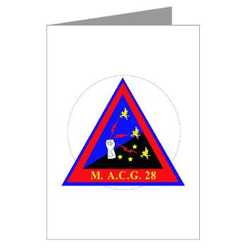 MACG28 - M01 - 02 - Marine Air Control Group 28 (MACG-28) - Greeting Cards (Pk of 10)