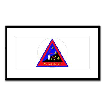 MACG28 - M01 - 02 - Marine Air Control Group 28 (MACG-28) - Small Framed Print