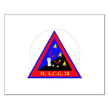 MACG28 - M01 - 02 - Marine Air Control Group 28 (MACG-28) - Small Poster