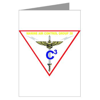 MACG38 - M01 - 02 - Marine Air Control Group 38 Greeting Cards (Pk of 10)