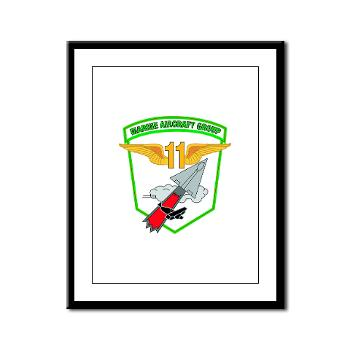 MAG11 - M01 - 02 - Marine Aircraft Group 11 - Framed Panel Print