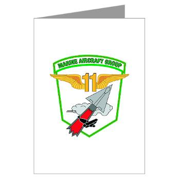 MAG11 - M01 - 02 - Marine Aircraft Group 11 - Greeting Cards (Pk of 20)