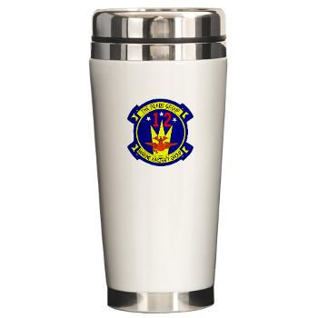 MAG12 - M01 - 03 - Marine Aircraft Group 12 Ceramic Travel Mug