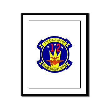 MAG12 - M01 - 02 - Marine Aircraft Group 12 Framed Panel Print
