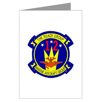 MAG12 - M01 - 02 - Marine Aircraft Group 12 Greeting Cards (Pk of 20)
