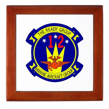 MAG12 - M01 - 03 - Marine Aircraft Group 12 Keepsake Box