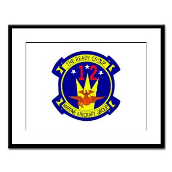 MAG12 - M01 - 02 - Marine Aircraft Group 12 Large Framed Print