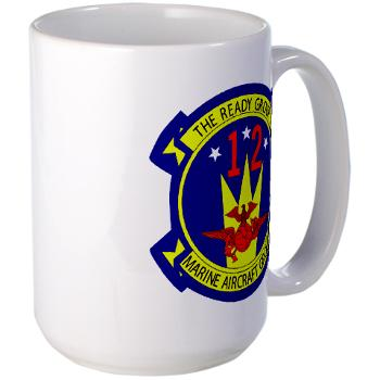 MAG12 - M01 - 03 - Marine Aircraft Group 12 Large Mug