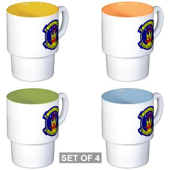 MAG12 - M01 - 03 - Marine Aircraft Group 12 Stackable Mug Set (4 mugs)