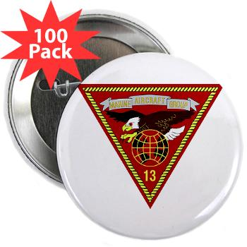 "MAG13 - M01 - 01 - Marine Aircraft Group 13 2.25"" Button (100 pack)"