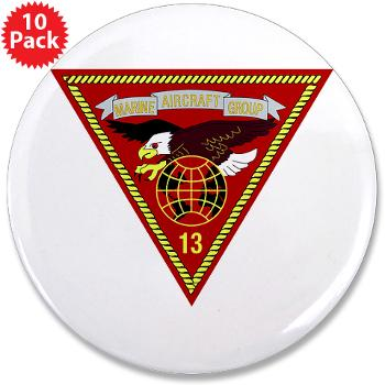 "MAG13 - M01 - 01 - Marine Aircraft Group 13 3.5"" Button (10 pack)"