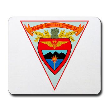 MAG24 - M01 - 03 - DUI - Marine Aircraft Group 24 - Mousepad