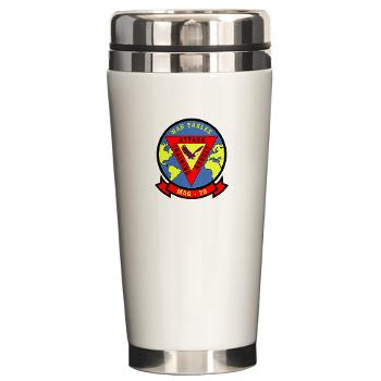 MAG29 - M01 - 03 - Marine Aircraft Group 29 (MAG-29) Ceramic Travel Mug