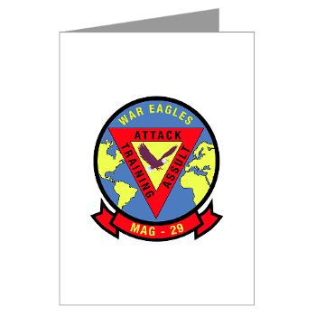 MAG29 - M01 - 02 - Marine Aircraft Group 29 (MAG-29) Greeting Cards (Pk of 10)
