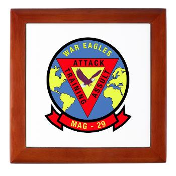 MAG29 - M01 - 03 - Marine Aircraft Group 29 (MAG-29) Keepsake Box