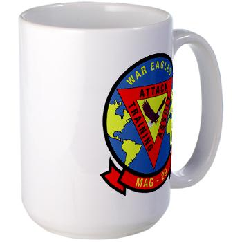 MAG29 - M01 - 03 - Marine Aircraft Group 29 (MAG-29) Large Mug