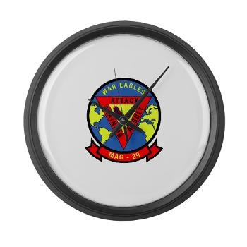 MAG29 - M01 - 03 - Marine Aircraft Group 29 (MAG-29) Large Wall Clock