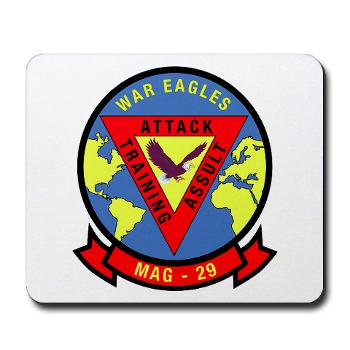 MAG29 - M01 - 03 - Marine Aircraft Group 29 (MAG-29) Mousepad