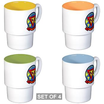 MAG29 - M01 - 03 - Marine Aircraft Group 29 (MAG-29) Stackable Mug Set (4 mugs)