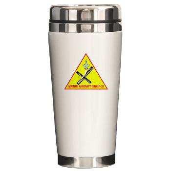 MAG31 - M01 - 03 - Marine Aircraft Group 31 (MAG-31) Ceramic Travel Mug