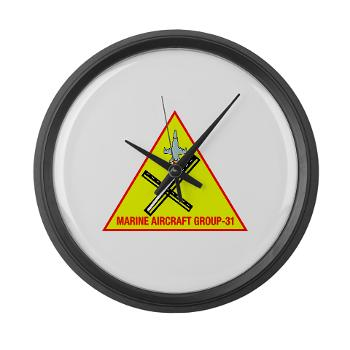 MAG31 - M01 - 03 - Marine Aircraft Group 31 (MAG-31) Large Wall Clock