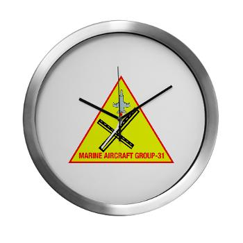 MAG31 - M01 - 03 - Marine Aircraft Group 31 (MAG-31) Modern Wall Clock
