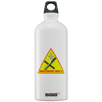 MAG31 - M01 - 03 - Marine Aircraft Group 31 (MAG-31) Sigg Water Bottle 1.0L