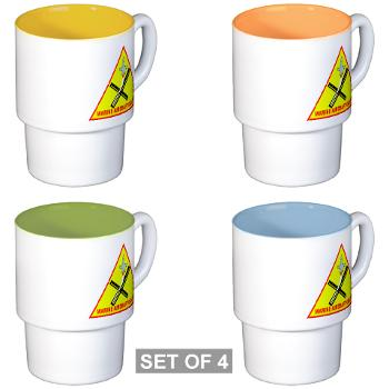 MAG31 - M01 - 03 - Marine Aircraft Group 31 (MAG-31) Stackable Mug Set (4 mugs)