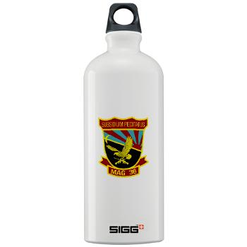 MAG36 - M01 - 03 - Marine Aircraft Group 36 - Sigg Water Bottle 1.0L