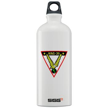 MAG39 - M01 - 03 - Marine Aircraft Group 39 - Sigg Water Bottle 1.0L