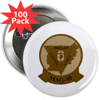 "MAG40 - M01 - 01 - Marine Aircraft Group 40 (MAG-40) 2.25"" Button (100 pack)"