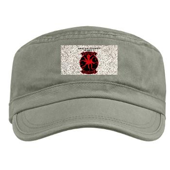 MALS11 - A01 - 01 - Marine Aviation Logistics Squadron 11 with Text - Military Cap