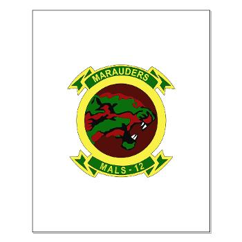 MALS12 - M01 - 02 - Marine Aviation Logistics Squadron 12th Small Poster