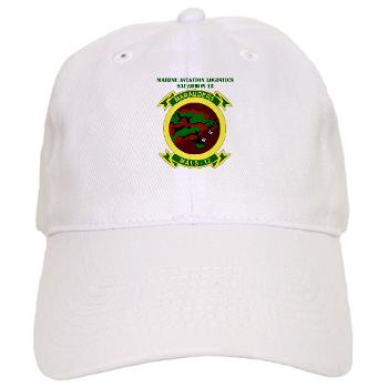 MALS12 - A01 - 01 - Marine Aviation Logistics Squadron 12th with Text Cap