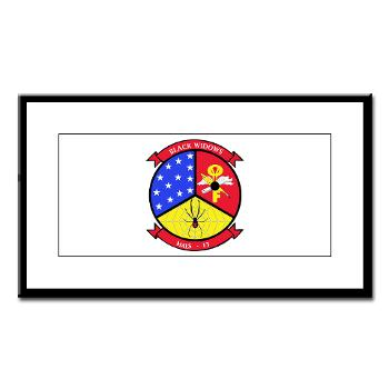 MALS13 - A01 - 01 - USMC - Marine Aviation Logistics Squadron 13 - Small Framed Print