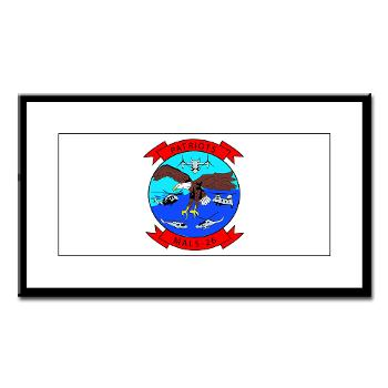 MALS26O - M01 - 02 - Marine Aviation Logistics Squadron 26-OLD (MALS-26) - Small Framed Print