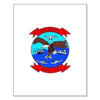 MALS26O - M01 - 02 - Marine Aviation Logistics Squadron 26-OLD (MALS-26) - Small Poster