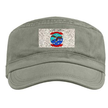 MALS26O - A01 - 01 - Marine Aviation Logistics Squadron 26-OLD (MALS-26) with text - Military Cap