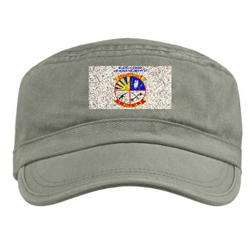 MALS36 - A01 - 01 - Marine Aviation Logistics Squadron 36 with Text - Military Cap